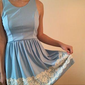 Alya Dresses - Light Blue Dress